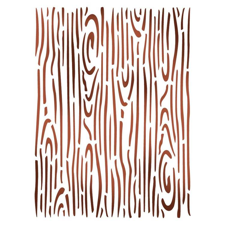 Stamperia - Maskingstencil - Wood effect - KSD287