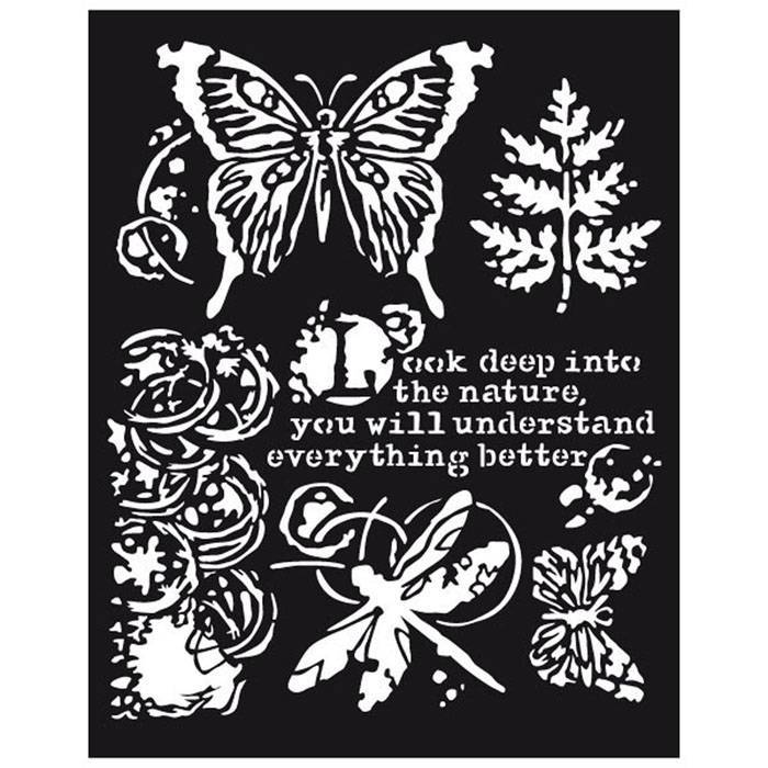 Stamperia - Maskingstencil - Butterflies and Dragonflies - KSTD013