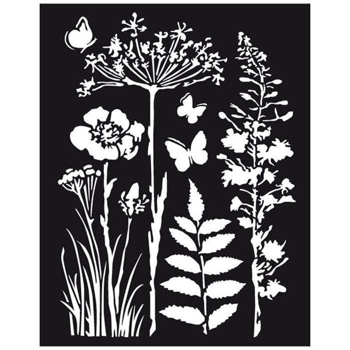 Stamperia - Maskingstencil - Nature - KSTD016