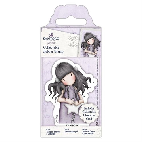 Gorjuss - Cling Stamp - Santoro - No. 55 - All These Words - GOR907154