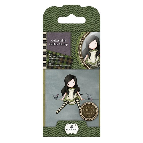 Gorjuss - Cling Stamp - Santoro - No. 12 - On Top Of The World - GOR907312