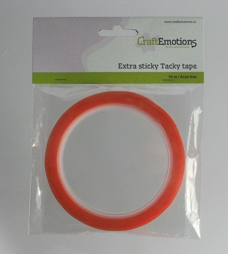 CraftEmotions - Lijmen / Foamtape / Kleefmiddelen - Extra sticky tape (12mm) - 3.3180