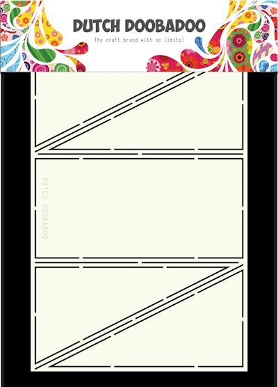 Dutch Doobadoo - Card Art - Diagonal Fold - 470.713.327