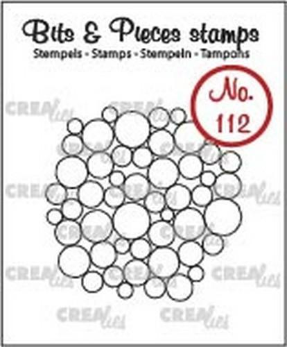 Crealies - Clearstamp - Bits & Pieces - No. 112 - A lot of circles - CLBP112
