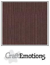 Craftemotions - Linnenkarton - 305 x 305mm: Koffie - 1265