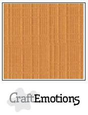 Craftemotions - Linnenkarton - 305 x 305mm: Toffee - 1240