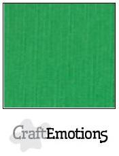 Craftemotions - Linnenkarton - 305 x 305mm: Grasgroen - 1030