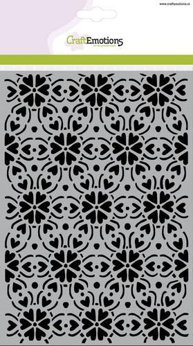 CraftEmotions - Maskingstencil - Patroon ornament - 185070/1254