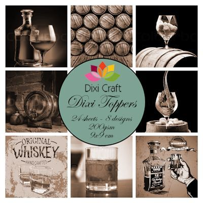 Dixi Craft - Paperpack - Whiskey: sepia - ET0330