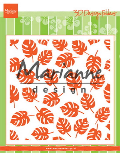 Marianne Design - Design Folder - Tropical leaves - DF3449