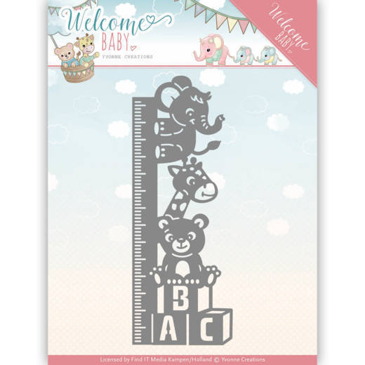 Yvonne Creations - Die - Welcome Baby - YCD10136