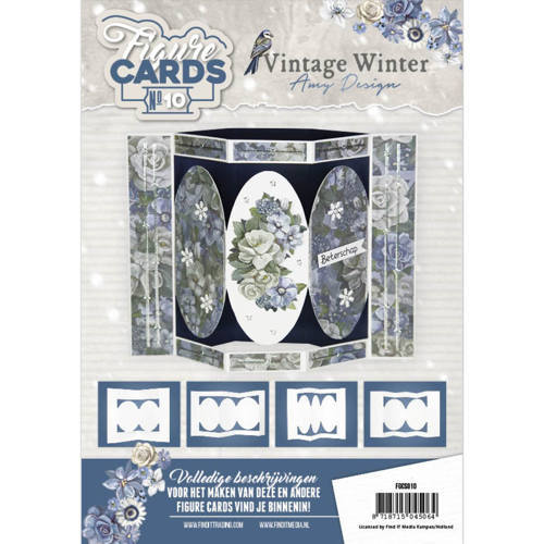 Card Deco - Figure Cards - No. 10 - Vintage Winter - FGCS010
