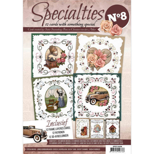 Card Deco - Hobbyboeken - Specialties - No. 08 - SPEC10008