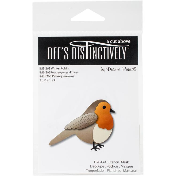 Dee`s Distinctively - Die - Winter Robin - IME-263