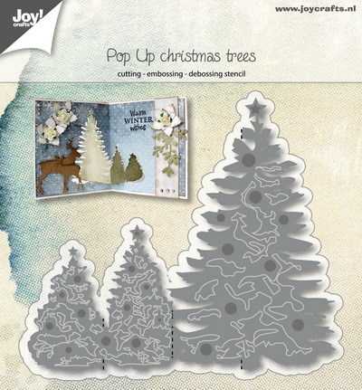 Joy! crafts - Die - Pop Up - Christmas Trees - 6002/0985
