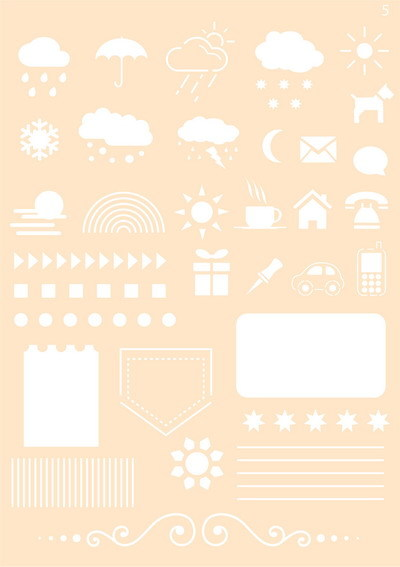 Joy! crafts - Maskingstencil - Journaling stencil - 6002/0861