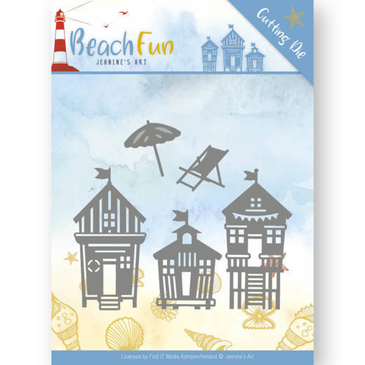 Jeanine`s Art - Die - Beach Fun Collection - Beach Houses - JAD10040