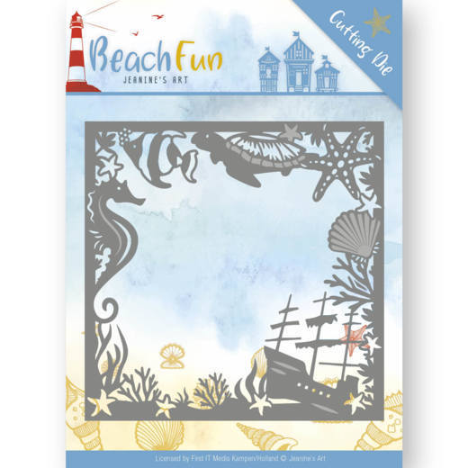 Jeanine`s Art - Die - Beach Fun Collection - Beach Frame - JAD10038