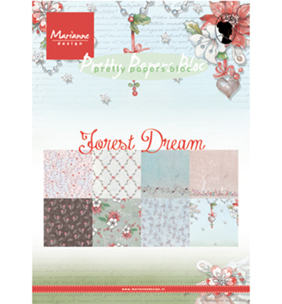 Marianne Design - Paperpack - Pretty Papers - Forest Dream - PK9158