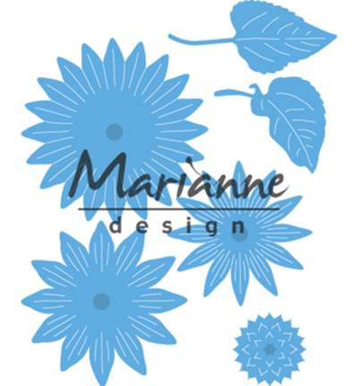 Marianne Design - Die - CreaTables - Sunflower - LR0545