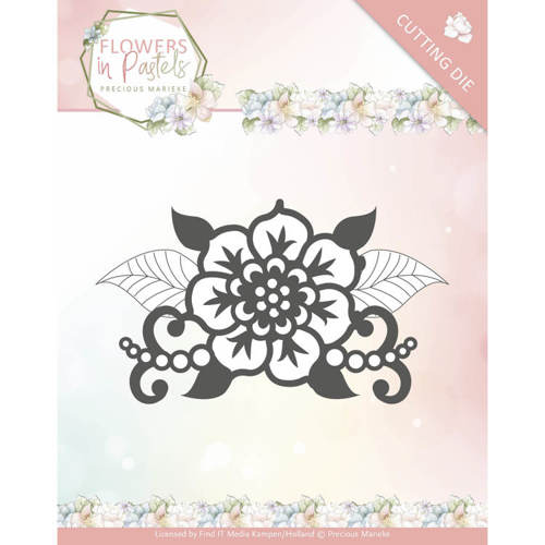 Precious Marieke - Die - Flowers in Pastels - Single Flower - PM10137