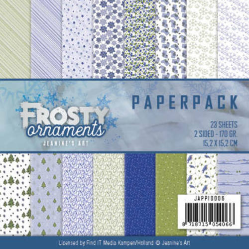 Jeanine`s Art - Paperpack - Frosty Ornaments - JAPP10006