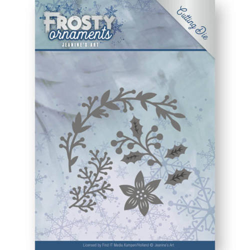 Jeanine`s Art - Die - Frosty Ornaments - Christmas Branches - JAD10049