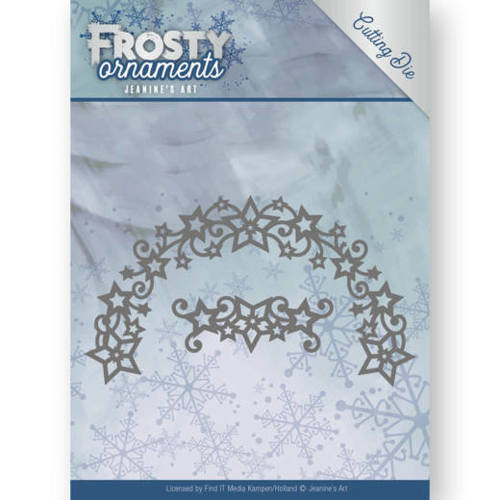 Jeanine`s Art - Die - Frosty Ornaments - Frosty Wreath - JAD10048