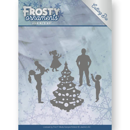 Jeanine`s Art - Die - Frosty Ornaments - Happy Family - JAD10047