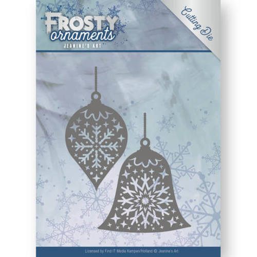 Jeanine`s Art - Die - Frosty Ornaments - Christmas Baubles - JAD10043