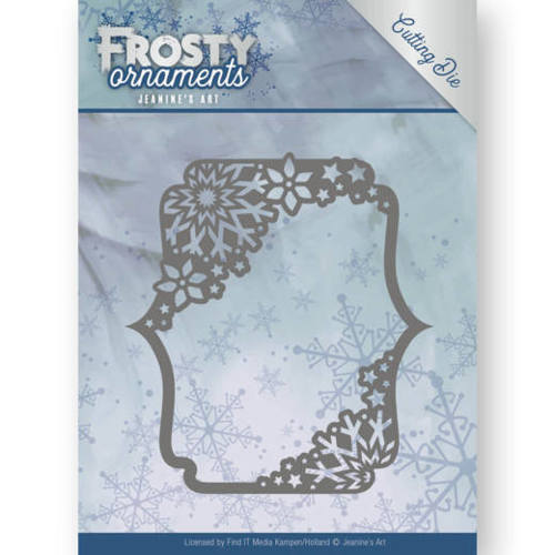 Jeanine`s Art - Die - Frosty Ornaments - Rectangle Ornament - JAD10042