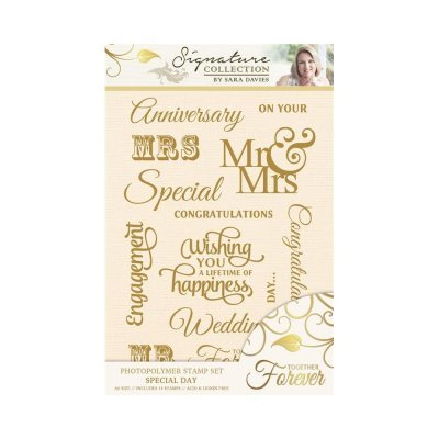 Crafter`s Companion - Sara Davies - Clearstamp - Together Forever - Special Day - S-TF-ST-SPEC