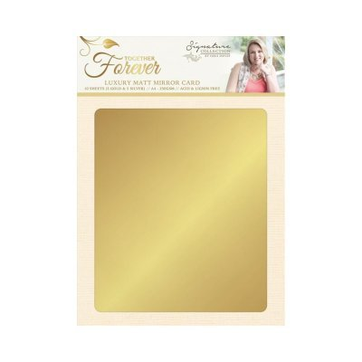 Crafter`s Companion - Sara Davies - Luxury Mirror Card - Together Forever - S-TF-MIRROR