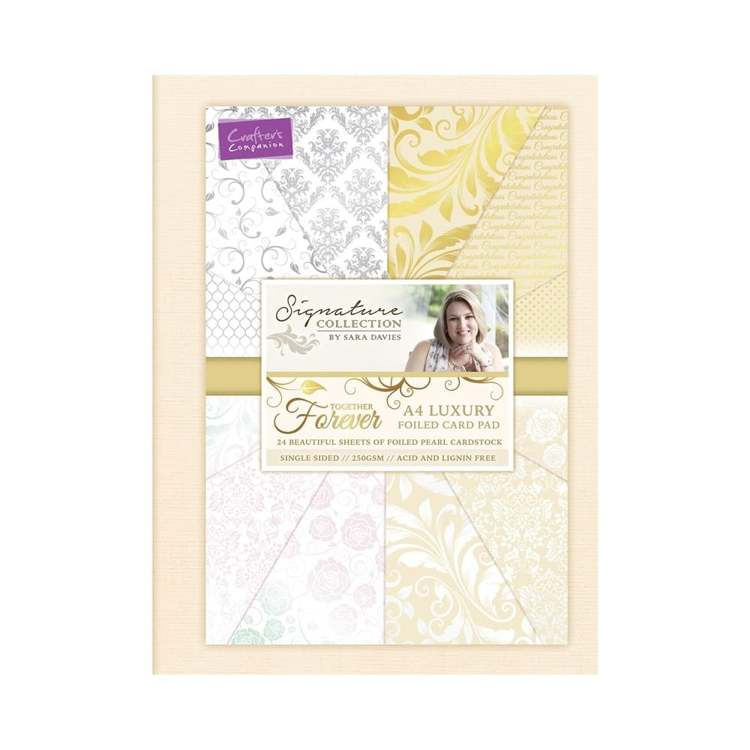 Crafter`s Companion - Sara Davies - Paperpack - A4 - Together Forever - S-TF-PADA4