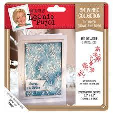 Crafter`s Companion - Leonie Pujol - Die - Entwined Collection - Snowflake Base - LP-MD-E-SNOWB