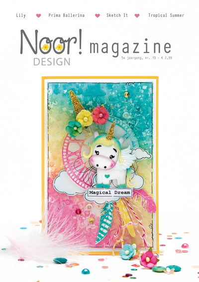 Joy! crafts - NOOR Magazine - editie augustus  - 9000/0118