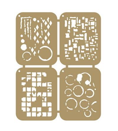 Joy! crafts - Maskingstencil - Grunge - 6002/0862