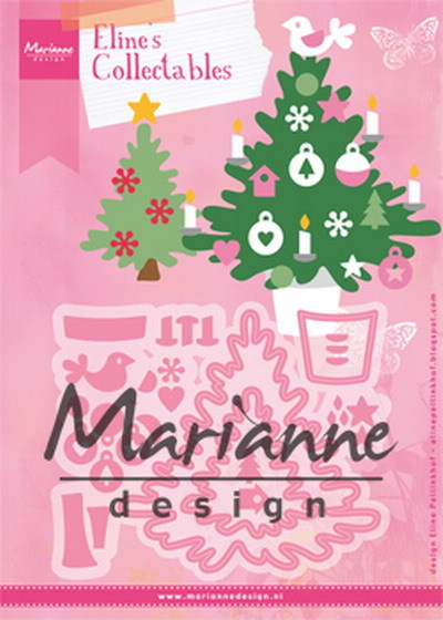 Marianne Design - Die - Collectables - Eline's Christmas Tree - COL1459