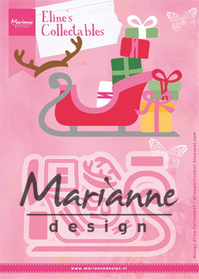 Marianne Design - Die - Collectables - Eline's Sleigh - COL1460