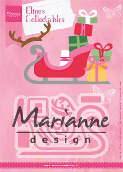 Marianne Design - Die - Collectables - Eline's Sleigh - COL1460