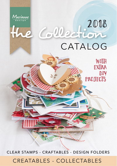 Marianne Design - The Collection - Catalogus 2018 - CAT2018