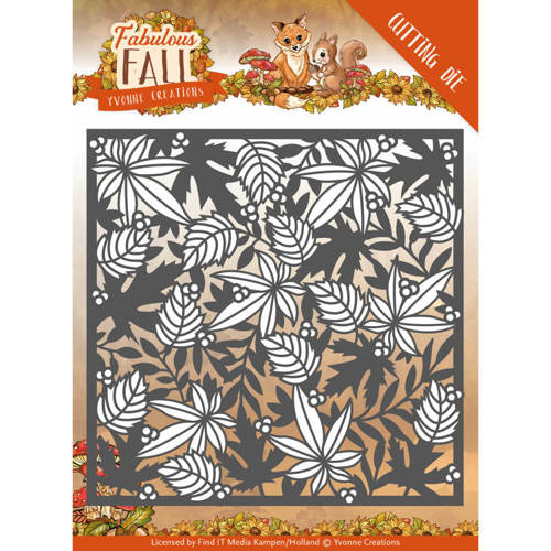 Yvonne Creations - Die - Fabulous Fall - Autumn Frame - YCD10147