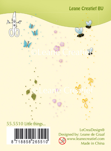 Leane Creatief - Clearstamp - Little things - 55.5510