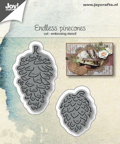 Joy! crafts - Die - Endless Pinecones - 6002/1070