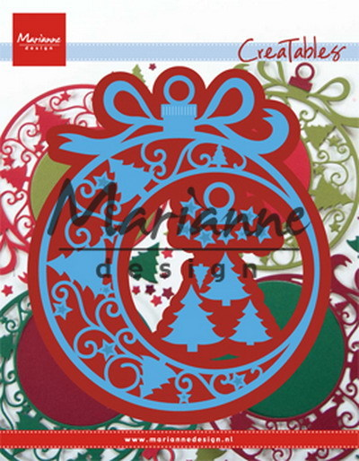 Marianne Design - Die - CreaTables - Christmas ornament - LR0560