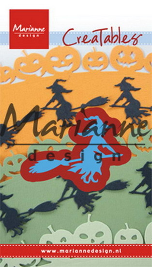 Marianne Design - Die - CreaTables - Witch on broomstick - LR0561