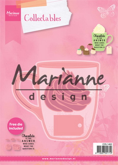 Marianne Design - Die - Collectables - Hot chocolate mug - COL1462