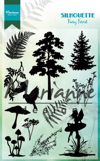 Marianne Design - Clearstamp - Silhouette Fairy Forest - CS1013