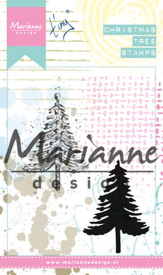 Marianne Design - Tiny`s - Cling Stamp - Christmas Tree - MM1625