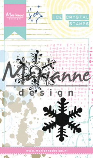 Marianne Design - Tiny`s - Cling Stamp - Ice crystal - MM1626